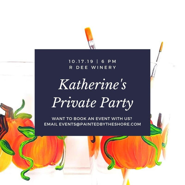 Katherine's Private Paint & Sip at R Dee Winery in Enfield CT | 10.17.19 at 6 PM