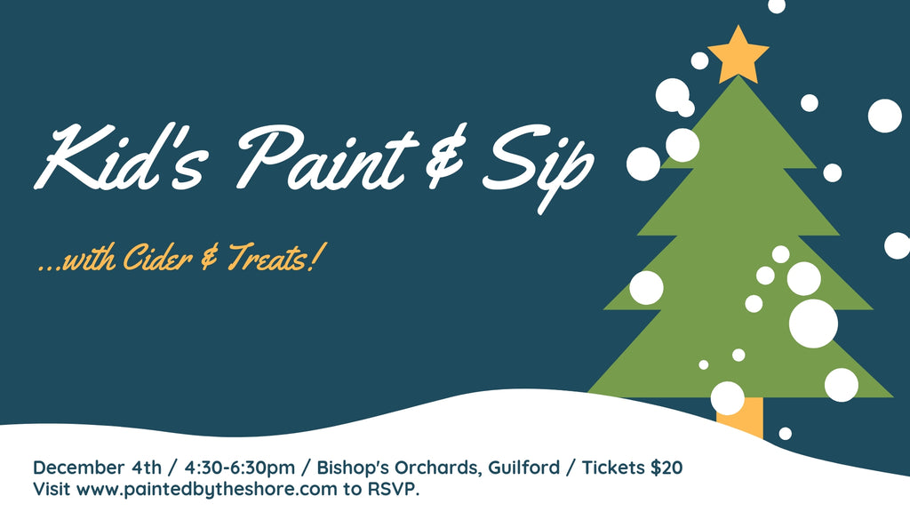 KID'S Paint & Sip... with Cider!