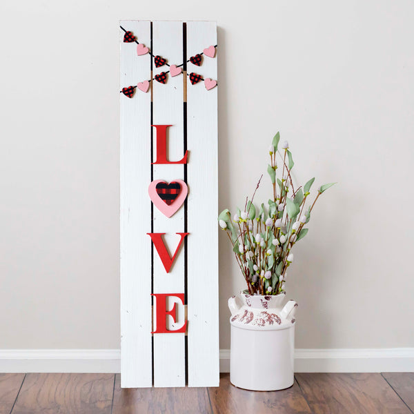 Virtual Art Workshop | LOVE Pallet Sign | 2.2.21 at 7 PM