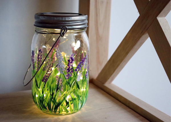 Virtual Art Workshop | Lavender Solar Lantern | 2.16.21 @ 7 PM