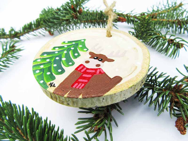 Moose Christmas Ornament