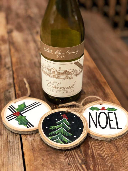 NOEL Ornament Paint & Sip at Chamard Vineyards in Clinton CT | 12.11.19 | 6:30-8:30 PM