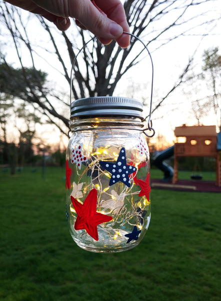 DIY in a BOX | Red, White & Blue Solar Lantern