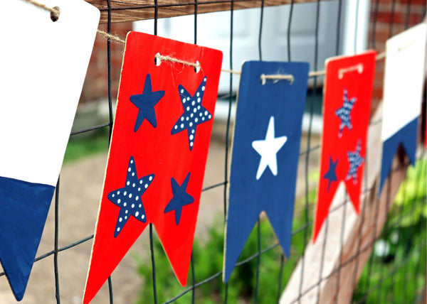 On-Demand Video Class | Patriotic Bunting | Available 5/20-7/10