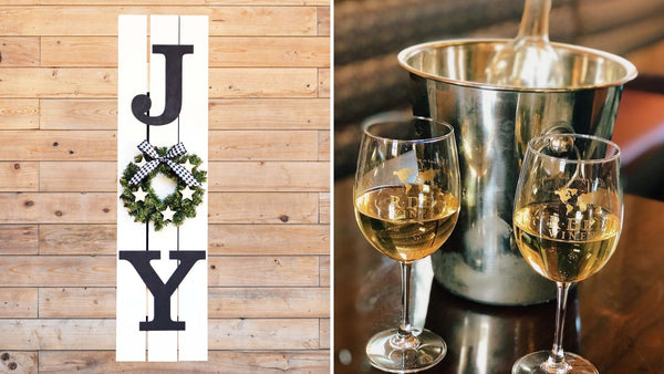 *Holiday Preview* JOY 30 Pallet Sign Workshop | R Dee Winery in Enfield CT | 11.10.20 | 6-8 PM