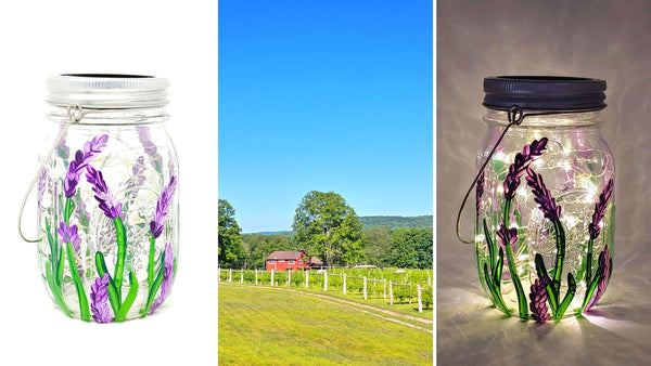 **OUTDOOR EVENT** Solar Lantern Paint & Sip at Rosabianca Vineyards in Northford CT | 6.13.20 | 11AM-1PM