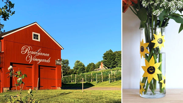 **OUTDOOR** Sunflower Paint & Sip | Rosabianca Vineyards in Northford CT | 5.15.21 | 11AM-1PM