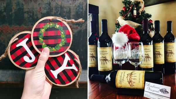Christmas Ornament Paint & Sip at Rosabianca Vineyards in Northford CT | 12.14.19 | 11 AM - 1 PM