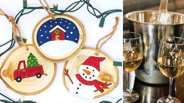 Red Truck Christmas Paint & Sip at R Dee Winery in Enfield CT | 12.12.19 | 6:30-8:30 PM
