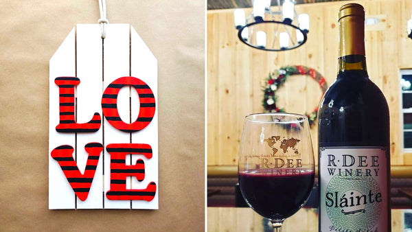Galentine's Paint & Sip at R Dee Winery in Enfield CT | 2.6.20 | 6:30-8:30 PM