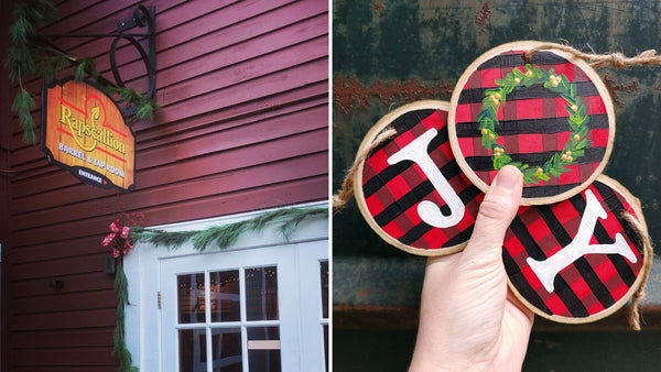 Holiday Ornament Paint & Sip at Rapscallion in Sturbridge MA | 12.5.19 | 6:30-8:30 PM