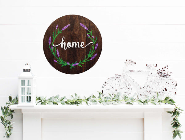 Round Farmhouse Sign Paint & Sip at Witchdoctor Brewing Co. in Southington CT | 6.20.20 | 11 AM - 1 PM