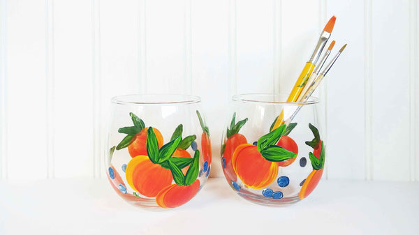 Sangria Wine Glass Paint & Sip
