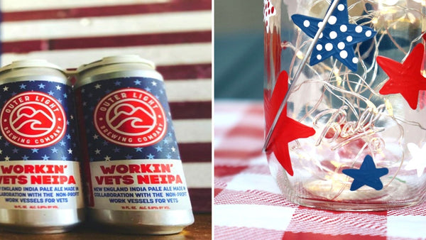 Memorial Day Paint & Sip | Outer Light Brewing Co. in Groton CT | 5.25.21 | 6-8 PM