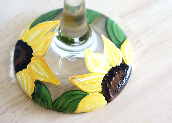 On-Demand Class | Sunflower Glassware | Available 5/20-6/10