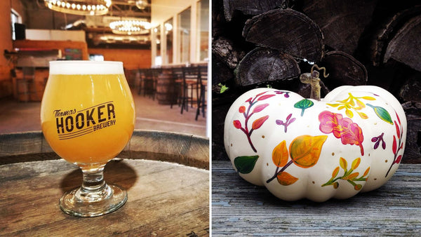 Fall Pumpkin Paint & Sip at Thomas Hooker Brewery in Bloomfield CT | 9.19.19 at 6:30 PM