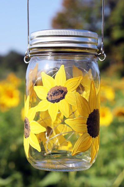 *VIRTUAL* Art Workshop | Sunflower Solar Lantern | 8.20.20 @ 7 PM