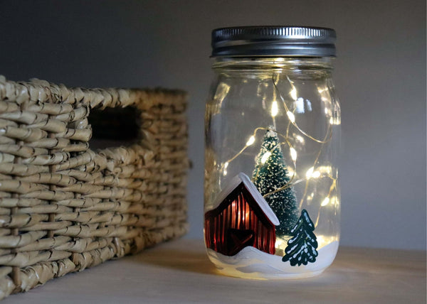 *Holiday Preview* Virtual Art Workshop | Red Barn Lantern | 11.12.20 @ 7 PM