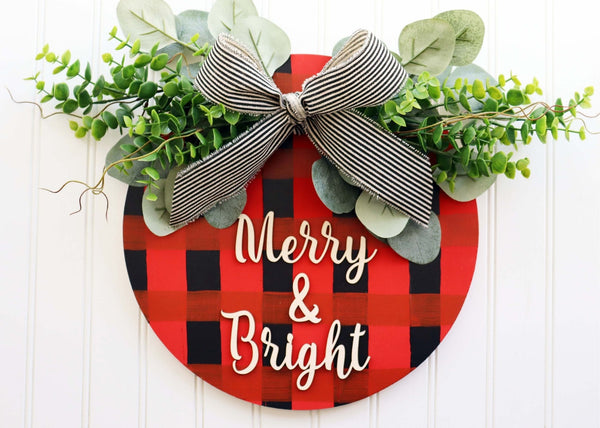 *Holiday Preview* Virtual Art Workshop | Merry & Bright Pallet Sign | 11.17.20 @ 7 PM