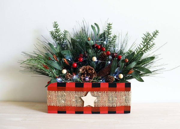 *Holiday Preview* Virtual Art Workshop | Christmas Centerpiece | 11.12.20 @ 7 PM