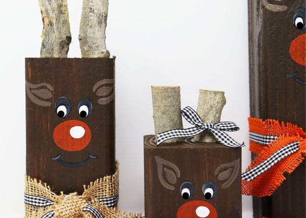 DIY in a BOX On-Demand Workshop | Reindeer Family