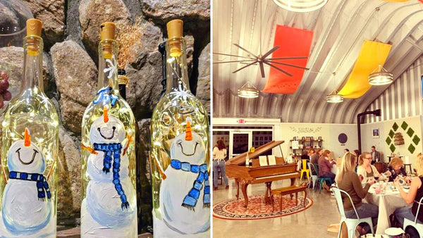 Snowman Lantern Workshop | Aquila's Nest Vineyards in Newtown CT | 12.6.20 | 4-6 PM