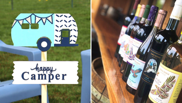 **OUTDOOR** Garden Sign Paint & Sip | Hawk Ridge Winery in Watertown CT | 5.20.21 | 6-8 PM