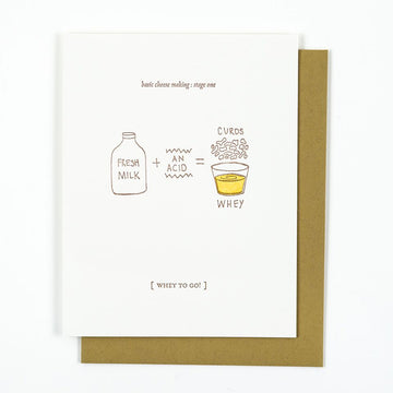 Whey Congrats Card