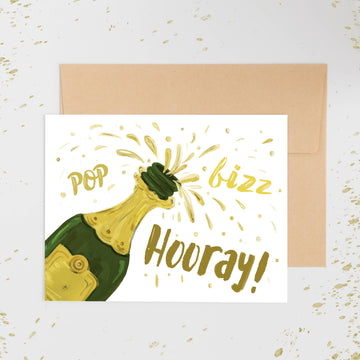 Pop Fizz Hooray Card