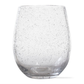 Stemless Bubble Wine Glass