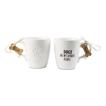 Dogs are My Favorite People Mug
