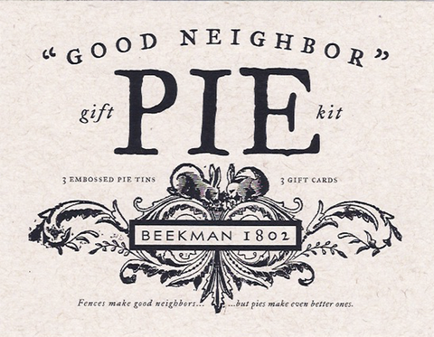 Good Neighbor Pie Kit by Beekman 1802