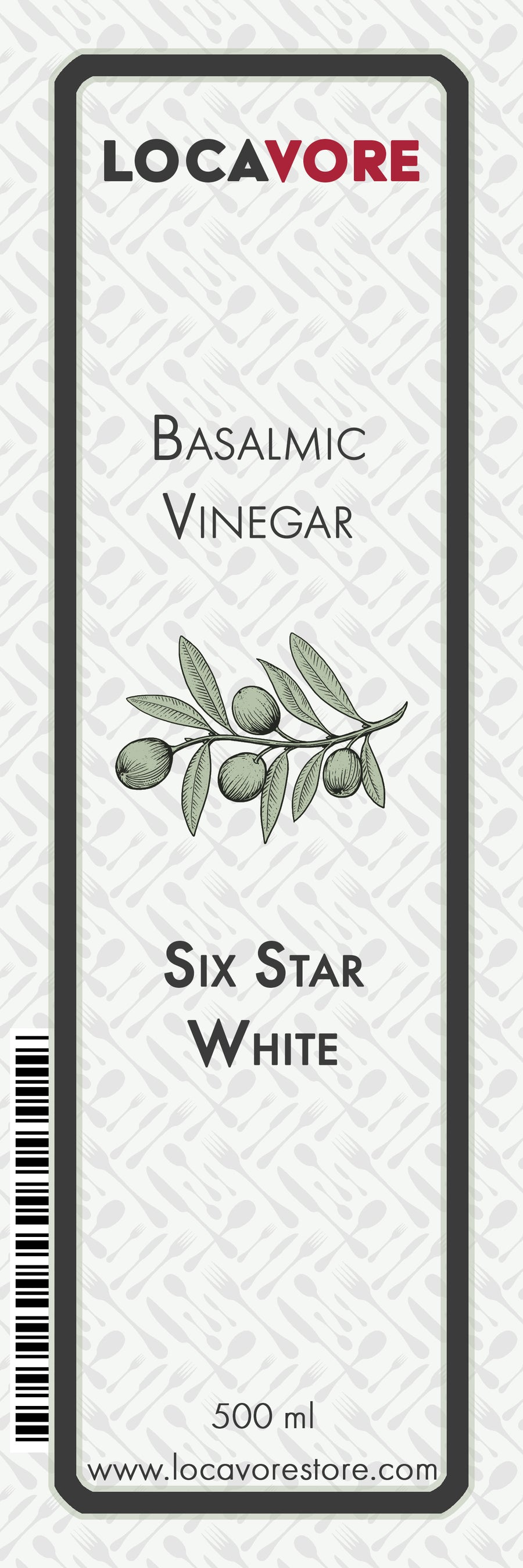 Modena 6 Star White Balsamic Vinegar