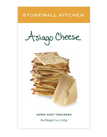 Asiago Cheese Crackers