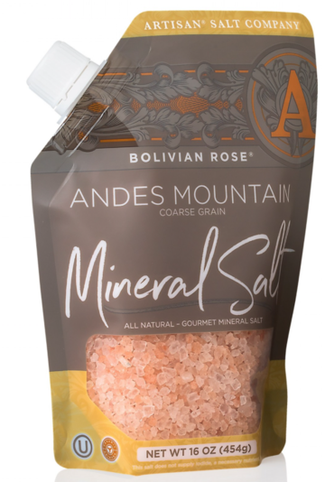 Bolivian Rose® Andes Mountain Salt