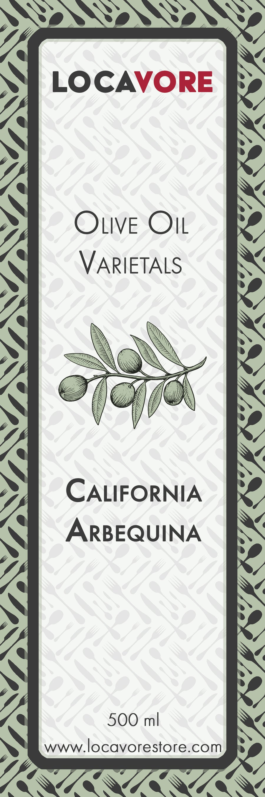 Extra Virgin Olive Oil - California Arbequina