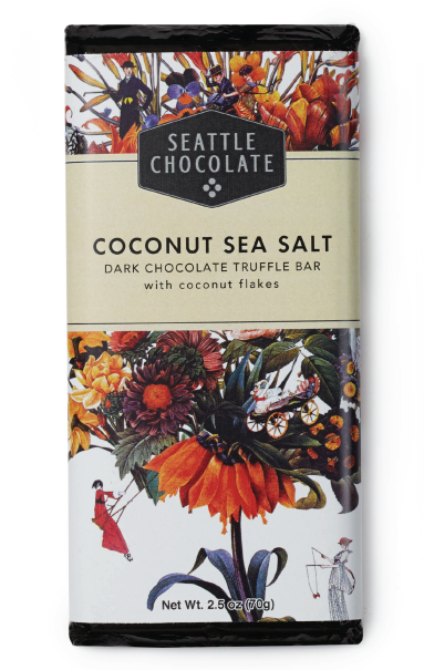 Coconut Sea Salt Truffle Bar