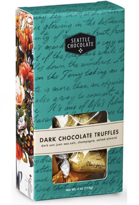 Dark Chocolate Truffle Box