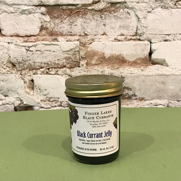 Black Currant Jelly--Finger Lakes Black Currants