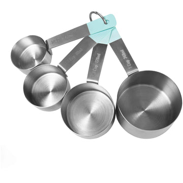 Stainless Steel Measuring Cups by Jamie Oliver