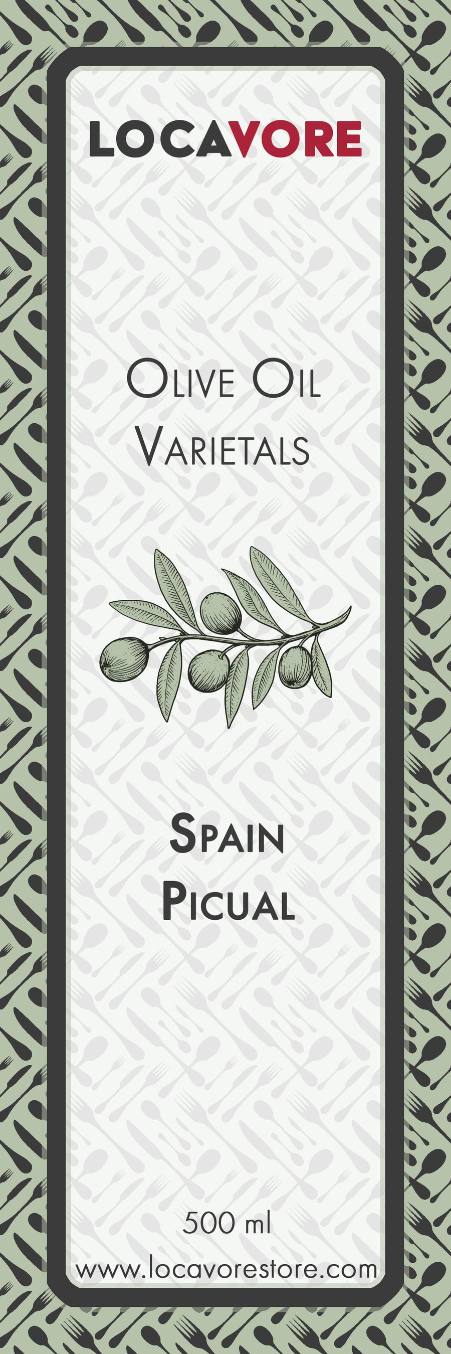 Extra Virgin Olive Oil - Spanish Picual