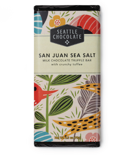 San Juan Sea Salt Milk Chocolate Truffle Bar