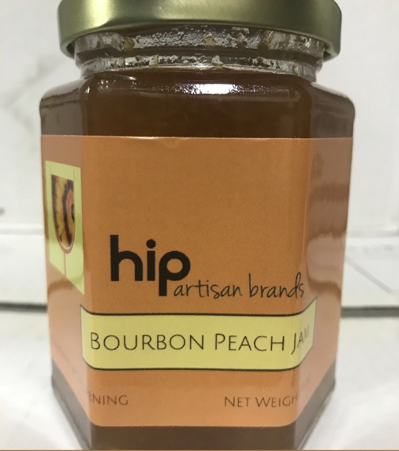 Bourbon Peach Jam--HIP Artisan Brands