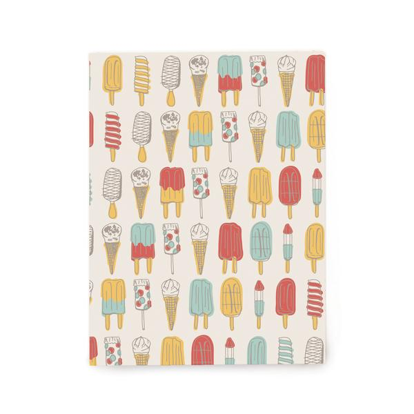 Popsicles & Ice Cream Cones Gift Wrap (Roll)