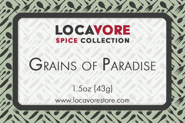 Locavore Grains of Paradise
