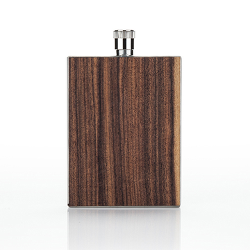 Flask, Wood Paneled