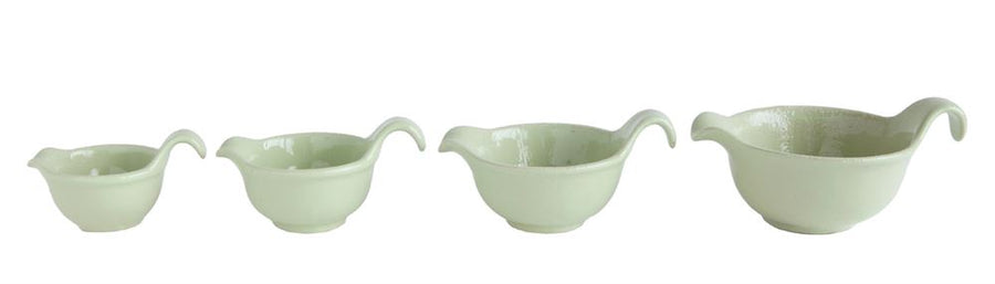 Stoneware Prep Bowls with Handle, Set of 4