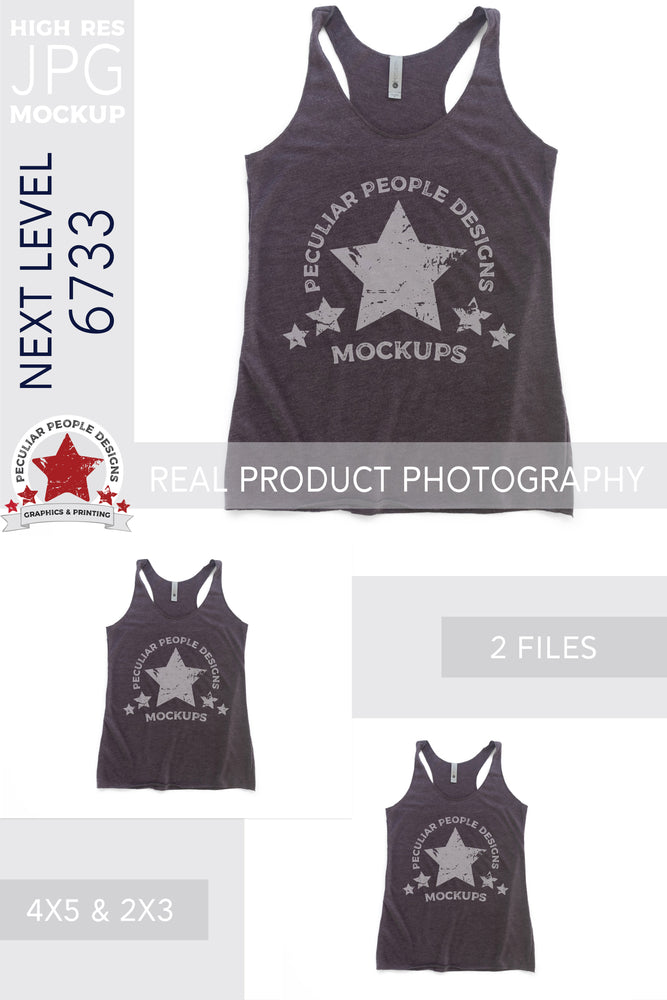 Load image into Gallery viewer, the tank top mockup shown in the two included aspect ratios; 4:5 and 2:3