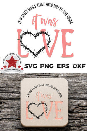 Load image into Gallery viewer, it was love svg embossed on drink coasters, laying on rustic wood