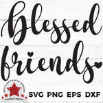 Blessed-Friends-Script-SVG-by peculiar-people-designs